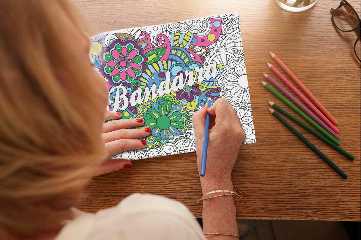 Il libro da colorare per adulti Bandarra