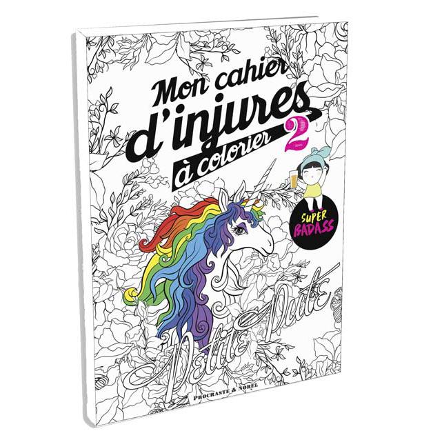 Mon cahier d'injures à colorier 2