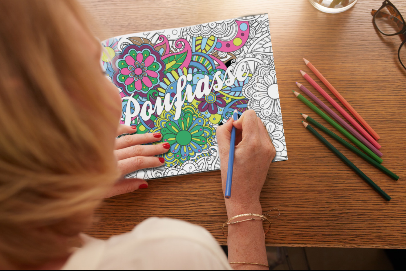 coloriage injures insultes livre