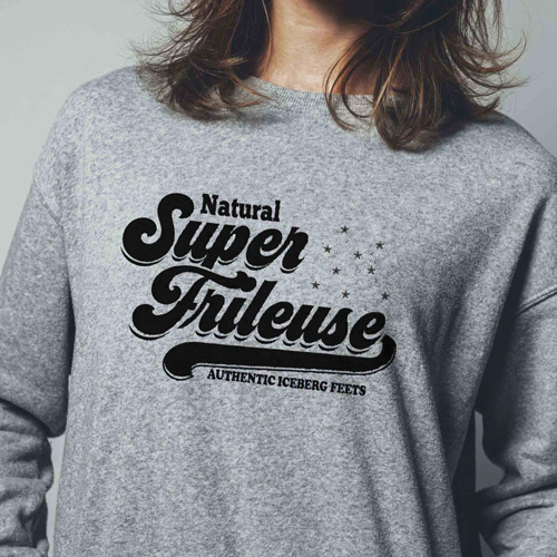 Sweat super : super frileuse