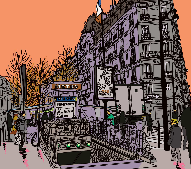 Paris And The Parisians The Coloring Book